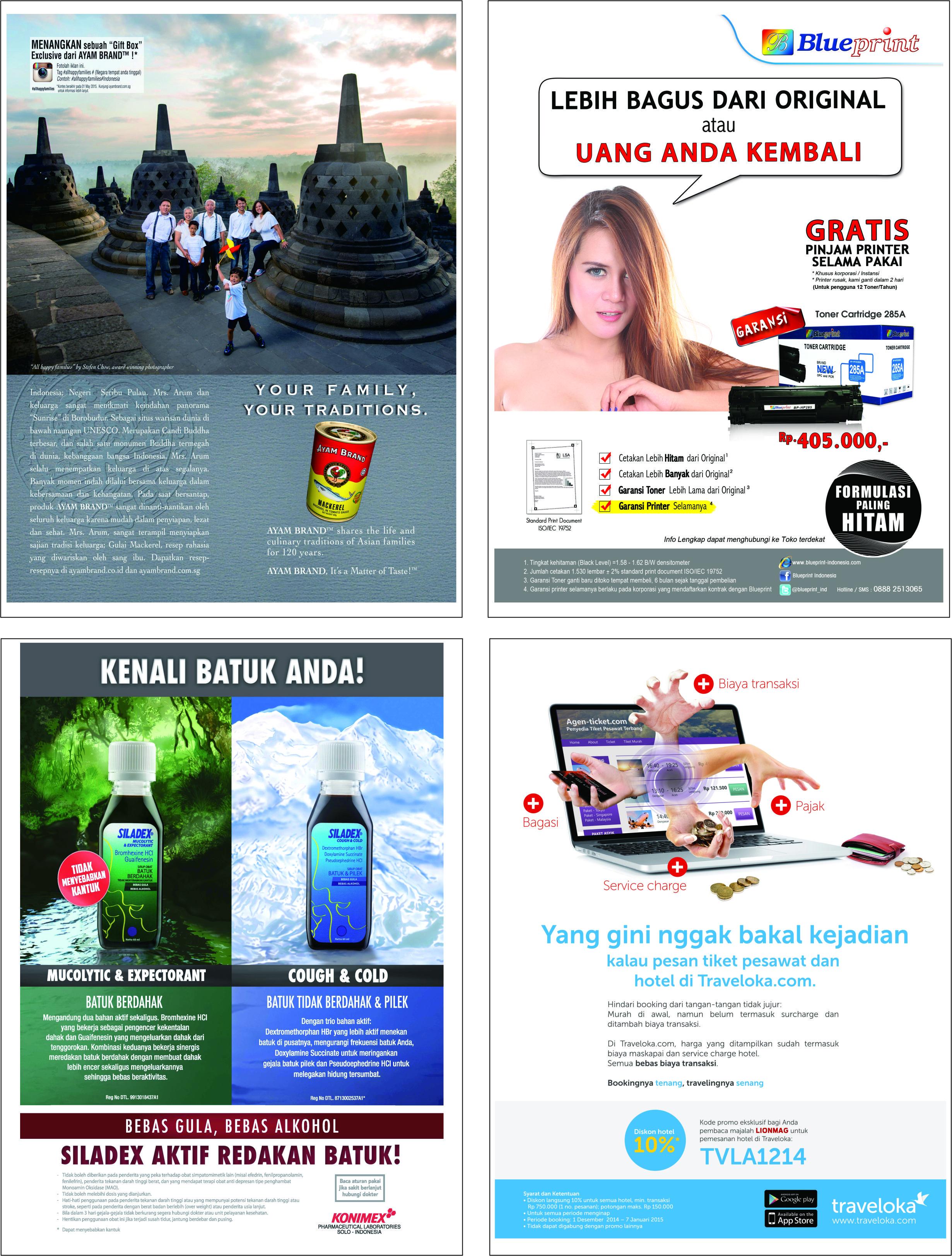 Iklan di Majalah Sindo Weekly - Media Ant